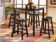 Ashley Conrad D202-223 -223 Sq Counter height table w/ 4 stools