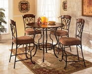 Ashley Nola D316-223 -223 Table and (4) chairs