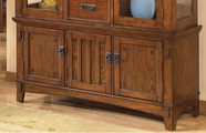 Ashley Cross Island D319-80 Buffet