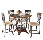 Ashley Alyssa D345-124(4)/32 -32 Table and (4) stools