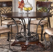 Ashley Alyssa D345-15 Round wood top table