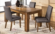 Ashley Haulani D391-01(4)/25 -25 Table & (4) chairs