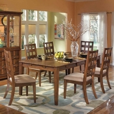 Ashley Clifton Park D420-01(4)/35 -35 Rectangular table and (4) chairs