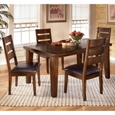Ashley Larchmont D442-01(4)/25 -25 Table and (4) chairs