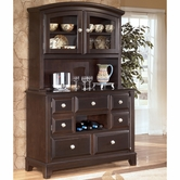 Ashley Ridgley D520-80/81 -80/81 Buffet/hutch