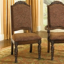 Ashley North Shore D553-02 Upholstered Side Chair