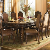Ashley North Shore D553-35/02(4) -35 Table and (4) uph side chairs