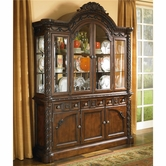 Ashley North Shore D553-80/81 Buffet and hutch