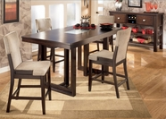 "Ashley Ocean Park D561-32/224(4) -32 Table and (4) 24"" barstools"