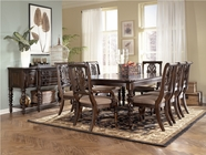 Ashley Key Town D668-01(4)/35 -35 Rectangular ext table and (4) chairs