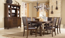 Ashley Holloway D696-01(4)/45 -45 Table and (4) side chairs