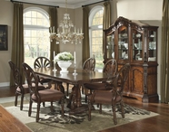 ASHLEY D705-55T-55B-03 Ledelle Rect Extension Dining Table Set