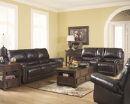 ASHLEY Dexpen 2100088-2100094 Reclining Sofa Set