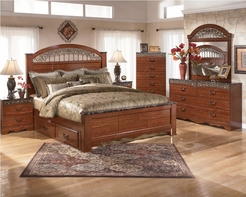ASHLEY Fairbrooks Estate Panel Bedroom Set B105-31/36/64/67/98