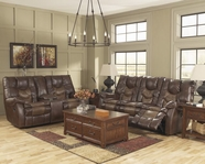 ASHLEY Gyro DuraBlend 1740087-1740091 Reclining Sofa Set With Power