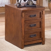Ashley Cross Island H319-12 2-Drawer Mobile File Cabnet