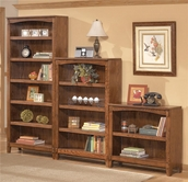 Ashley H319-15-16-17 Cross Island Bookcase wall