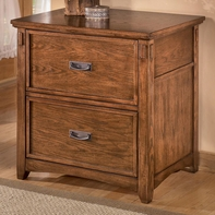 Ashley Cross Island H319-42 Lateral File Cabinet