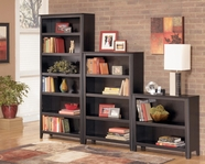 Ashley H371-15-16-17 Carlyle Large Bookcase Wall