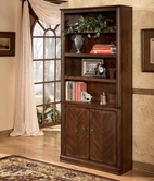 Ashley Hamlyn H527-18 Large Door Bookcase