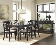 ASHLEY Harlstern D692-35/01 Rectangular ext dining set