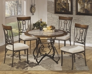 ASHLEY Hopstand D314-01/15B/15T Round Dining Set