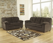 ASHLEY Inger-Chocolate 7010438-7010435 Sofa Set