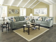 ASHLEY Kylee - Lagoon 6640038-35 SOFA SET