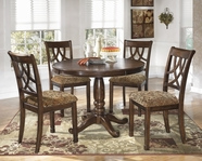ASHLEY Leahlyn D436-15T/15B/01 Round Dining Set