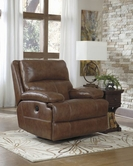 ASHLEY Lensar-Nutmeg U9900128 Swivel Rocker Rec