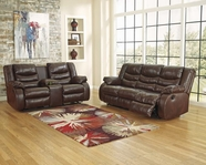ASHLEY Linebacker DuraBlend 9520188-9520194 Reclining Sofa Set