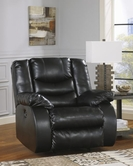 ASHLEY Linebacker DuraBlend-Black 9520298 Rocker Recliner w/Pwr