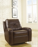 ASHLEY Mannix DuraBlend 2140061 Swivel Glider Recliner