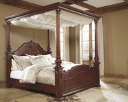 ASHLEY Martanny B698-50/72/99 King poster canopy bed