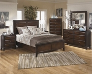 ASHLEY Martini Studio B531-81/96-31-36 Bedroom Set