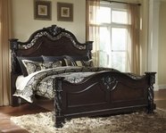 ASHLEY Mattiner B682-51/71/98 Queen poster bed