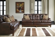 Ashley Mclarion-Walnut 9740038-9740035 Sofa Set