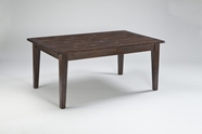ASHLEY Mestler D540-125 Rect Table - dark brown pine