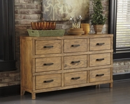 ASHLEY Mestler D540-360 Server - honey pine
