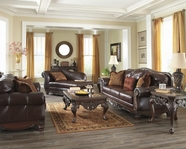 ASHLEY North Shore Plus-Coffee 2310038-2310035 SOFA SET