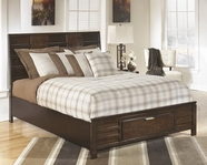 Ashley Nowata Nowata B474-54S/57/96S Queen wood storage panel bed