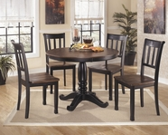 ASHLEY Owingsville D580-15T/15B/02 Round Dining Set