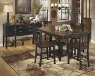 ASHLEY Owingsville D580-32/224 Square counter height dining set