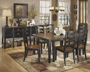 ASHLEY Owingsville D580-45/01 Rectangular dining set