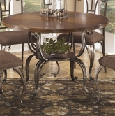 ASHLEY Plentywood D313-15T-15B Round Dining Table