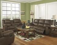 ASHLEY Quarterback-Canyon 3270188-3270194 Reclining Sofa Set