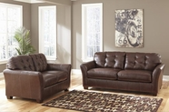 Ashley Santigo-Brown 9980338-9980335 Sofa Set