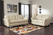 ASHLEY Santigo-Cream 9980238-9980235 Sofa Set