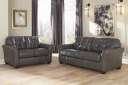ASHLEY Santigo-Dark Gray 9980138-9980135 Sofa Set