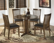 ASHLEY Stuman D293-01/15Round drop leaf dining set